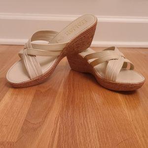 Italian Shoemakers Wedge Sandals